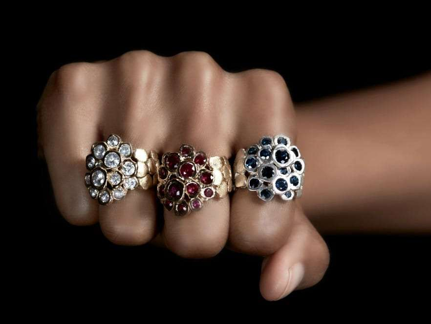 vestal sapphire rings