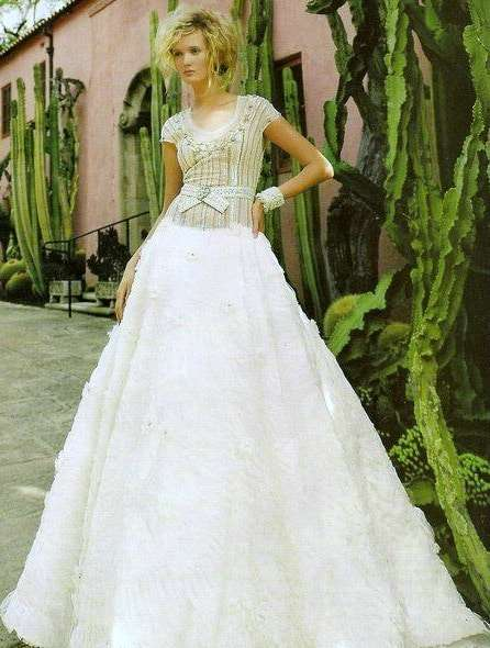 Andrea Gutierrez wedding couture cuff