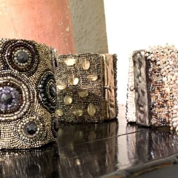 Andrea Gutierrez Jewelry couture cuffs