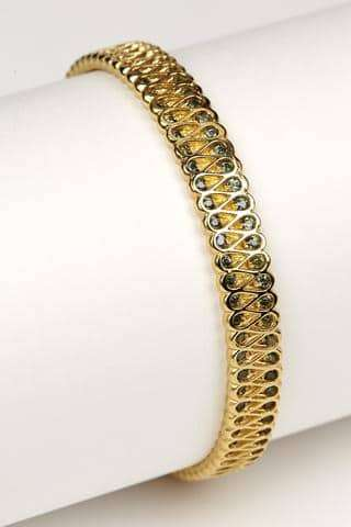 Collar Bangle + Sapphires