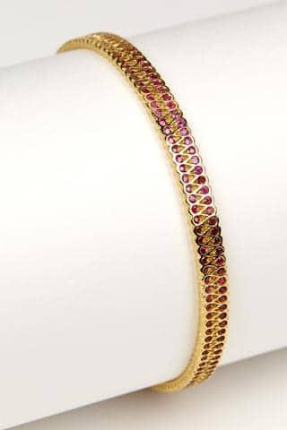 Collar Bangle + Rubies