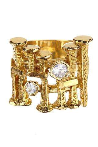 Vestal Cuff + Diamonds