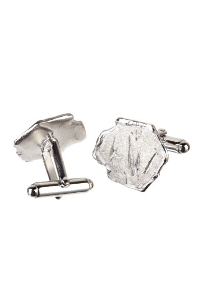 18K white gold Vestal men's cufflinks