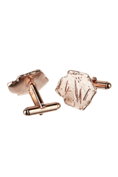 18K rose gold Vestal cufflinks