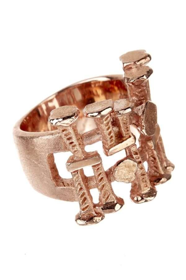 18K rose gold Vestal ring
